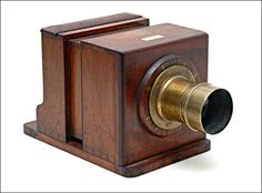 Wet plate sliding box camera, by Dallmeyer, c1865. Great collection at photographica.nu.