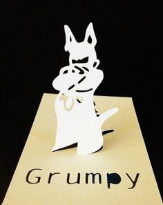 Grumpy card by Tomasz Stasiuk