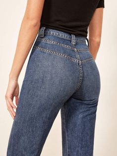 87d07be014d69 Reformation 70'S Jean Hippie Jeans, 70s Hippie, What A Girl Wants, Famous  Girls