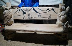 Sitzgelegenheiten - Holz Flori