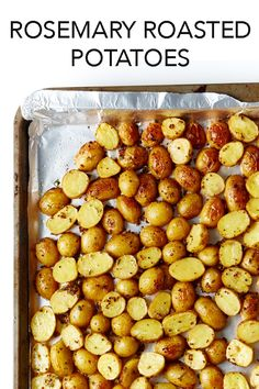 Tossed with baby potatoes, Dijon mustard, lemon juice and garlic, rosemary boosts the flavour of these crispy-crusted, tender taters.  #BiteMeMore