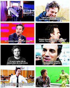 Mark Ruffalo - I love him.