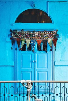 Blue Houses in Jodhpur | Best Places To Visit In India Plus Things To Do | via @Just1WayTicket | Photo © lusia83/Depositphotos