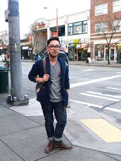 men's street fashion | Emerald Closet