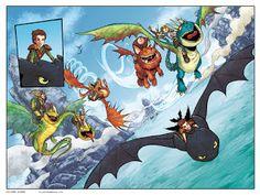 Colorazione: Dragon Trainer.