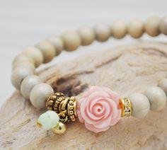 Armbandje 'Sweet Rose'