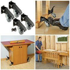 Workbench Caster Kit - Rockler.com