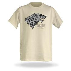 Avec la reprise de la saison 2 de game of thrones, ce t-shirt est de circonstance ! Et puis winter is coming ...