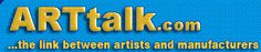 The New June 2012 Issue of Art Talk is now available    Articles on:    ARTS/CRAFTS — The American Studio Glass Movement    PRINTMAKING — Papers for Printmaking    AIRBRUSH — Airbrushing on Location    Plus many articles    More Information: http://www.arttalk.com/pdf/ARTV2208.pdf  Copyright ©  Art Talk     Read and Enjoy:  Reggie and the Staff at Dixie Art Supplies