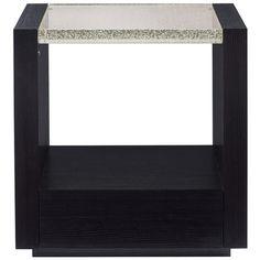 ReMix Small Nightstand | Caracole | LuxDeco.com Bedside Table Design, Bedside Tables, Small Nightstand, Apartment Chic, Contemporary Classic, Bath Linens, New Furniture, Small Spaces, Branding Design