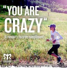 You Are Crazy #runningmeme