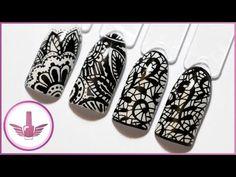 Тонкие линии получатся у каждого! Дизайн ногтей ручкой рапидограф NeoNail   Маникюр с узорами - YouTube