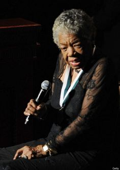 In Honor Of Maya Angelou  Dr. Maya Angelou, recipient of the 2009 Buoniconti Fund Humanitarian Award, speaks onstage at the 24th Annual Great Sports Legends Dinner in New York.