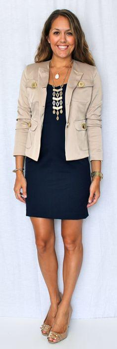 Ava Dress & Paige Jacket as seen on the blog @J's Everyday Fashion #SpiegelStyle | Shop now: http://www.spiegel.com/ava-dress-by-shape-fx-45527.html & http://www.spiegel.com/paige-jacket-by-newport-news-45945.html
