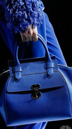 Giorgio Armani Fall 2015 Ready-to-Wear Fashion Show Fashion Handbags, Purses And Handbags, Fashion Bags, Fashion Fashion, Luxury Fashion, Unique Handbags, Ladies Handbags, Fashion 2018, Runway Fashion