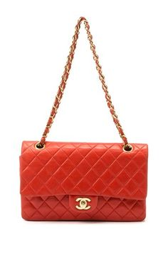 Vintage Chanel Lambskin Matelasse Double Chain Shoulder Bag @HauteLook