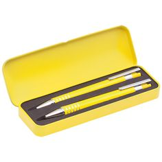 Este bonito estuche compuesto de bolígrafo y portaminas lo puedes encontrar en nuestra tienda por solo 1,61 € + IVA. Durante todo el mes de Abril con nuestro codigo promocional G2Z1N805 . Tambien lo puedes pesonalizar y convertirlo en un estupendo regalo promocional para tu negocio. Pidenos presupuesto sin compromiso.