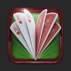 扑克牌游戏图标