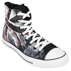 #punk #flag #shoes #zapatillas #empspain Chuck Taylor AS Hi Destroyed Flag - Zapatillas por Converse $84.99 euros
