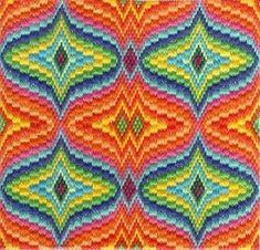 CREATIVE SPHERE: Bargello Needlepoint