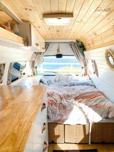 Van Conversion Interior, Conversion Van, Build A Camper Van, Diy Camper, Bus Life, Camper Life, Ducato Camper, Converted Vans, Van Home