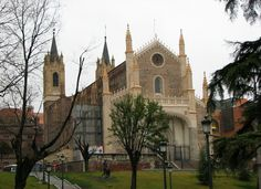 The Church & Cloisters of San Jerónimo el Real, near the Prado Museum in Madrid, Spain