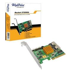PCIE-2.0 Host Adapter by HPT. $171.36. PCIE-2.0 Host AdapterRocket 2720 HBA's are the Industry's most affordable, PCI-Express 2.0 SAS 6Gb/s storage HBA?s, and are ideal for cost-effective, entry-level storage applications. Rocket 2720 HBA?s are fully backwards compatible with SAS/SATA 3Gb/s devices, PCI-Express 1.0 and 2.0 motherboards, and are compliant with all major operating systems including Windows operating systems and Linux distributions.***This item is expected...