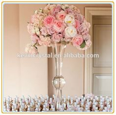 Check out this product on alibaba app clear glass trumpet tall check out this product on alibaba app unique glass vases wedding centerpieceparty junglespirit Images