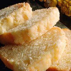 Bizcocho de Leche Condensada  sabor vainilla sabor perfecto por sí mismo o como una base para los postres de frutas.