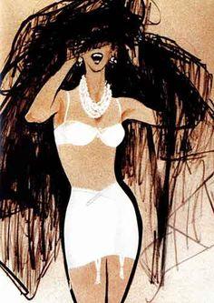 Je suis une fan absolue et inconditionnelle des illustrations de mode et…                                                                                                                                                                                 Plus