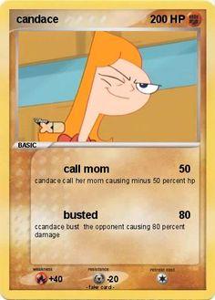 Candace Pokemon Card