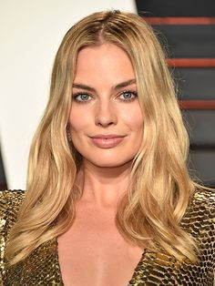 Margot Robbie, 2016 Oscars Laura Mercier Velour Lovers Lip Colour in Sensual, $28, lauramercier.com