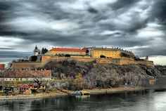 """Petrovaradin Fortress: """"Often referred to as the 'Gibraltar of the Danube', Petrovaradin Fortress across the river from Novi Sad has 18km of underground galleries criss-crossing beneath it."""" Serbia: The Bradt Guide www.bradtguides.com"""
