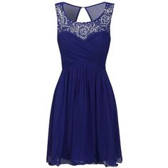 cobalt blue prom dresses - Google Search