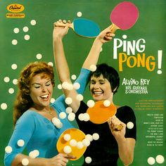 Ping Pong Capitol record album cover-Alvino Rey Orchestra