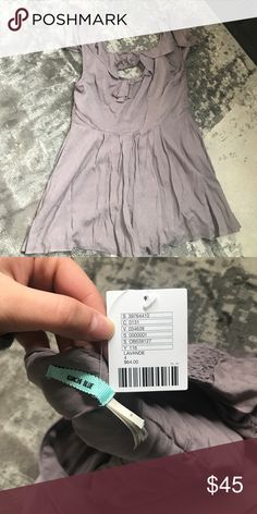 Kimchi blue lavender romper This romper has never been worn and is brand new with tags. It's super easy to dress up or down, and it's incredibly flower, so it's perfect for spring, summer, and early fall Urban Outfitters Other