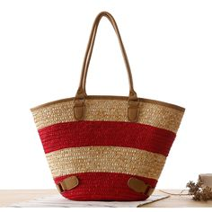 2017 Beach Bags For Women Straw Summer Handmade Weave Shoulder Bag Famous Brands Designer  High Quality Ladies Travel Tote Bag