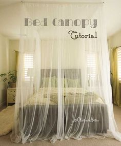 Canopy Curtain how a canopy bed can make your bedroom feel more romantic | cheap