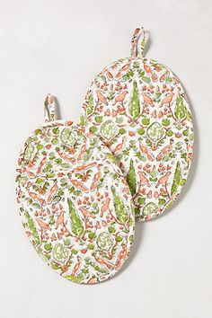 Aviary Oven Mitts - anthropologie.com