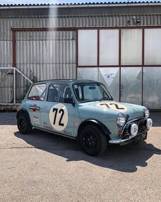 Finally back on track, I missed you all 🚙💨 From now on I will keep you posted on my races, adventures and roadtrips! Mini Cooper Classic, Classic Mini, Classic Cars, Mini Cooper Tuning, Rover Mini Cooper, Austin Mini, Mini Uk, Cafe Racing, Auto Racing