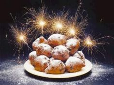 OLIEBOLLEN A Dutch tradition. Today they are served at Brighton `s Applefest!