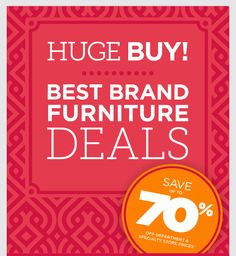 HomeGoods Furniture sale - save up to 70% off department & speciatly store prices