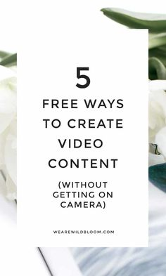 5 ways to create vid