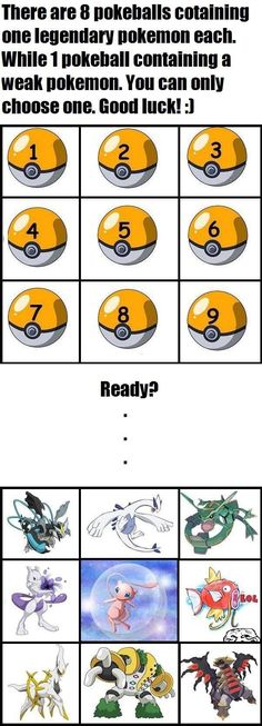 Pokemon Challenge and if you lose you have to like and follow me! hahaha good luck! >.<