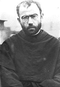 """...The saint died in the concentration camp at Auschwitz, during World War II, and is remembered as a ""martyr of charity"" for dying in place of another prisoner who had a wife and children. He was canonized by Pope John Paul II on October 10, 1982.  St. Maximilian is also celebrated for his missionary work, his evangelistic use of modern means of communication, and for his lifelong devotion to the Virgin Mary under her title of the Immaculate Conception…"""