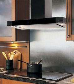 "Kitchen Island Ventilation 36"" wide cooktop wall hood for kitchen ventilation 