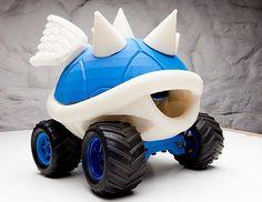 Turtle shell racer