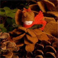 Pine Cone Fairy | Faerie Dolls | Garden Fairy Dolls | Imagination Toys for Children
