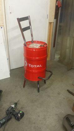 Oil drum chairs Dutch design