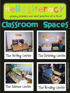 Environment:  Classroom environment ideas that meet all different developmental areas